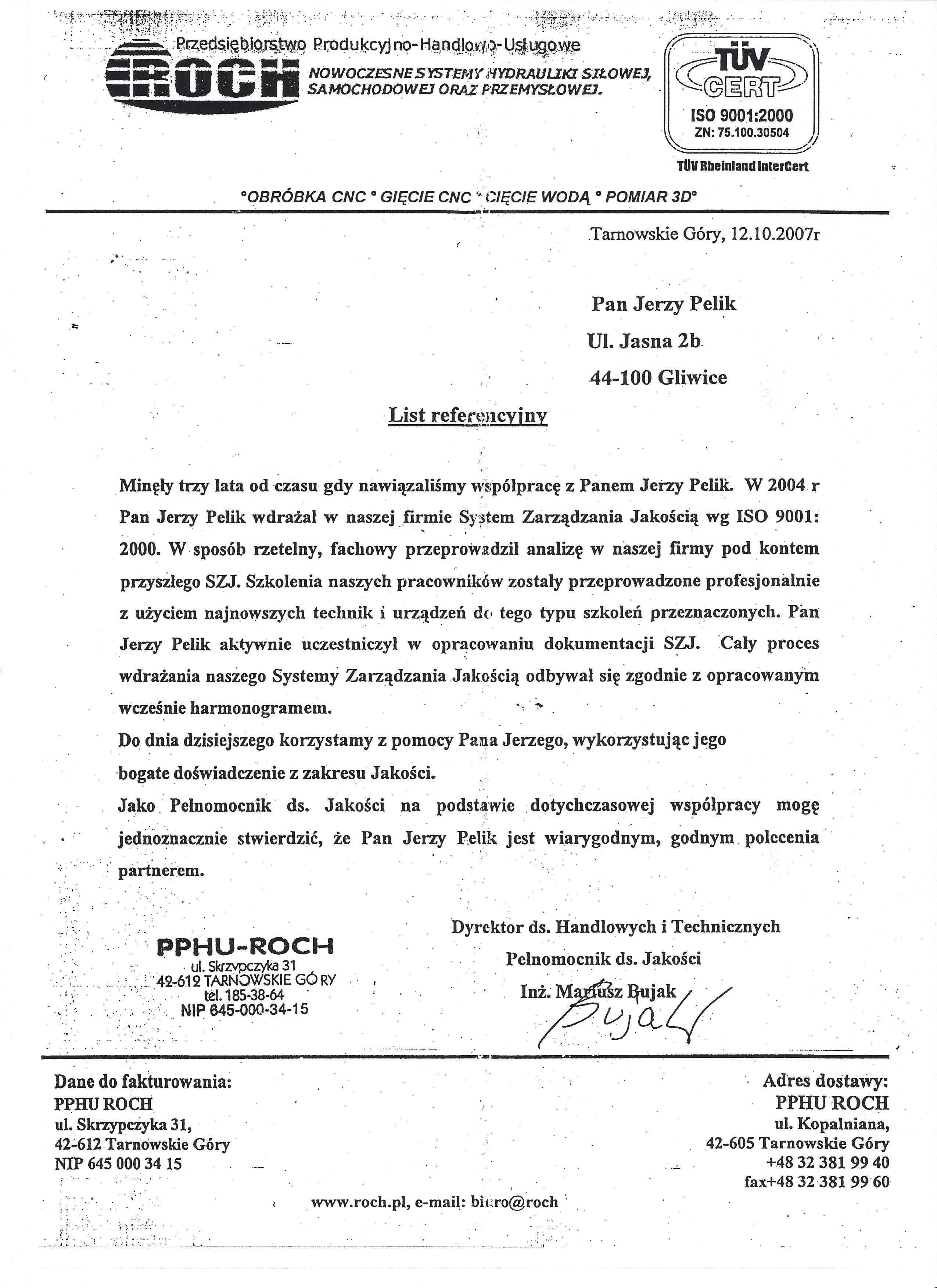 PPHU Roch