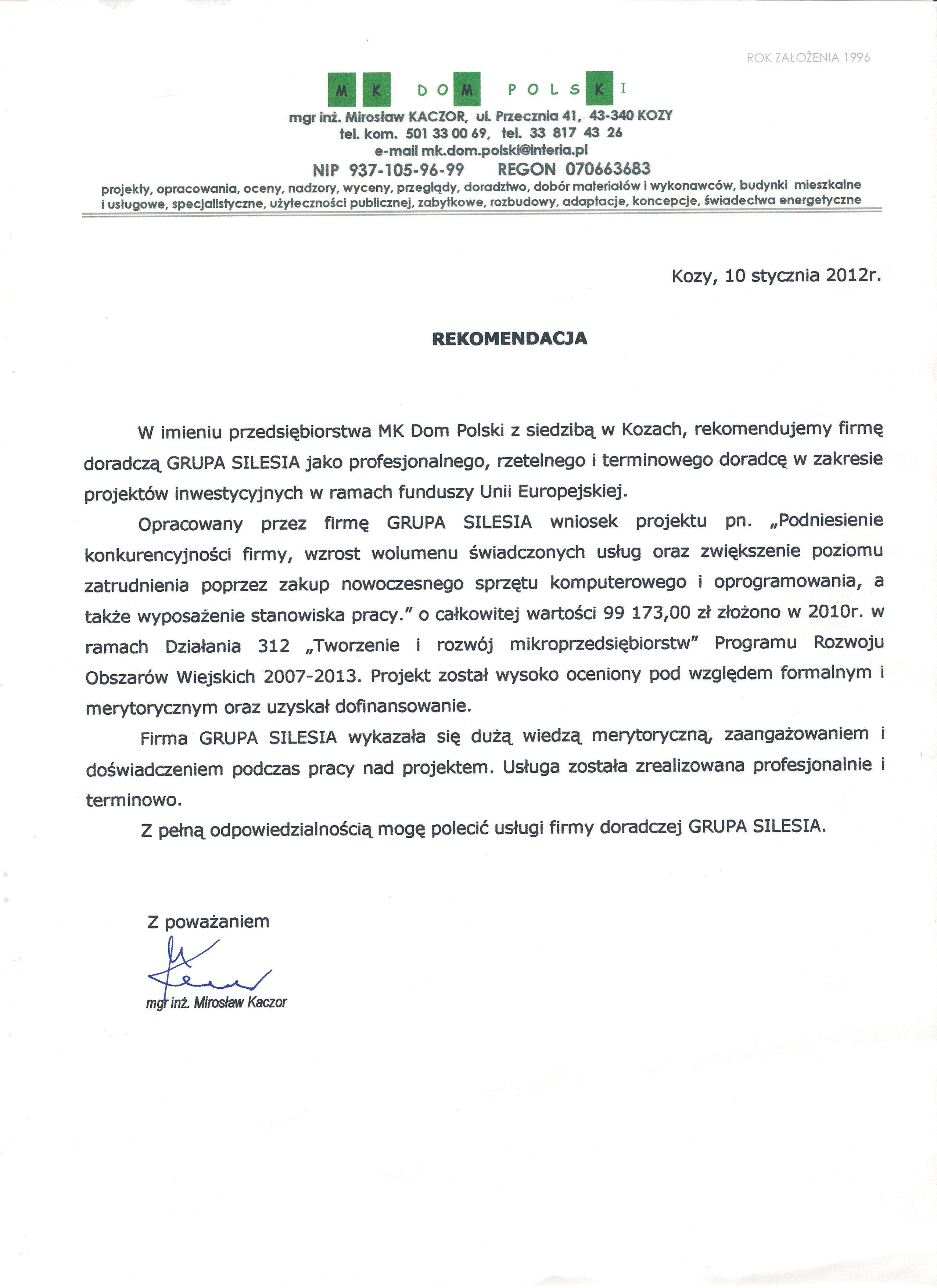 MK Dom Polski