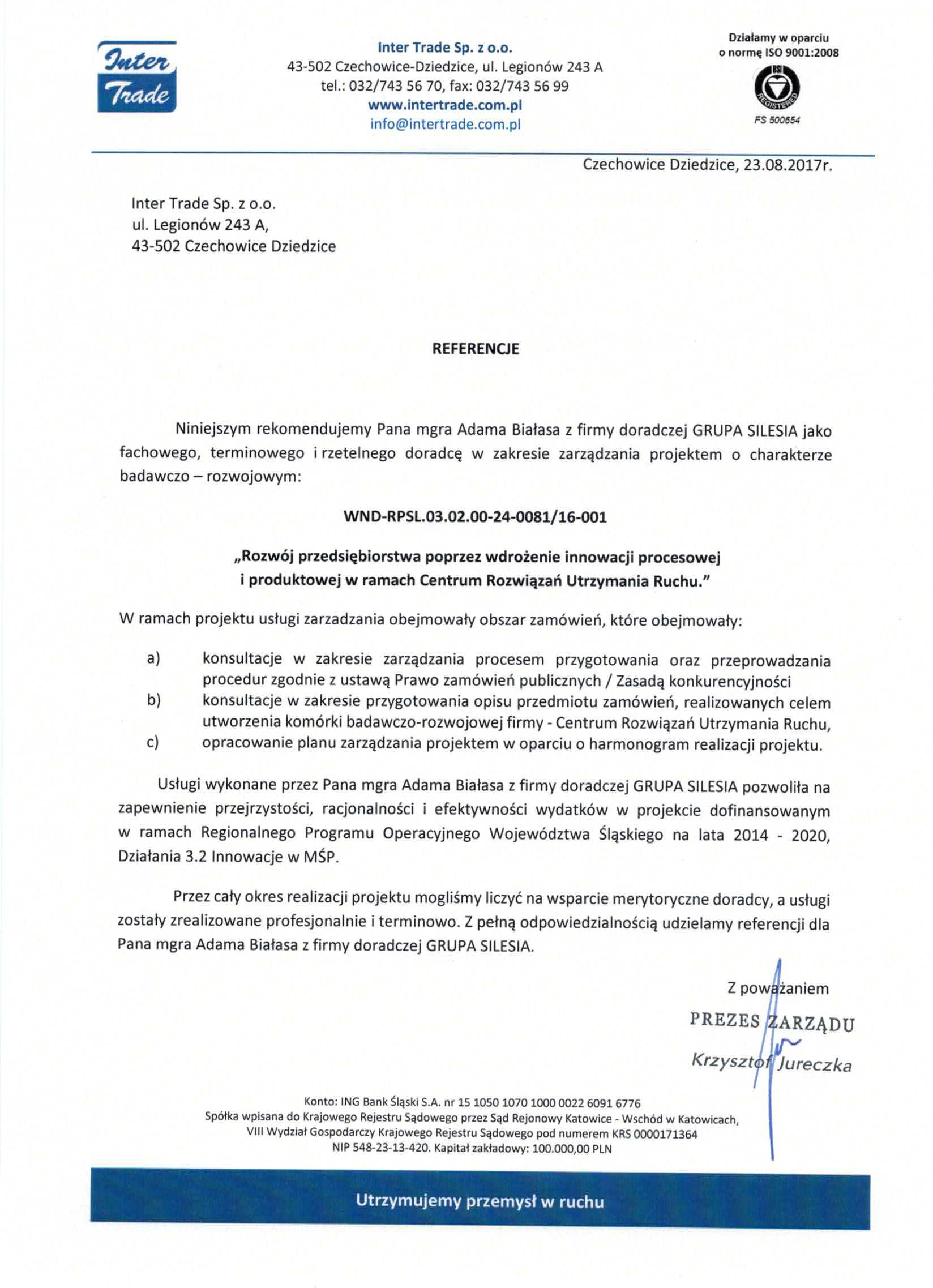 Inter Trade RPO WSL 3.2